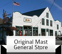 Original Mast General Store Valle Crucis NC