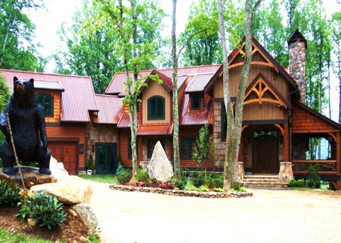 log gallery of private rental photo boone family photogallery htm creek cabins cabin rentals creeks vacation nc waterfalls