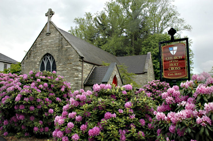 Church of the Holy Cross Valle Crucis North Carolina