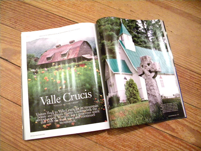 Valle Crucis Our State Magazine 2010 October Issue